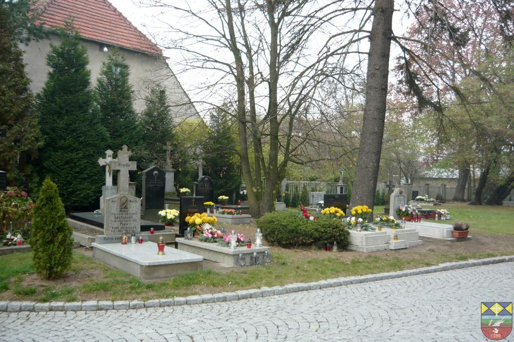 Cmentarz wokół kościoła parafialnego - Stare Siołkowice.jpeg