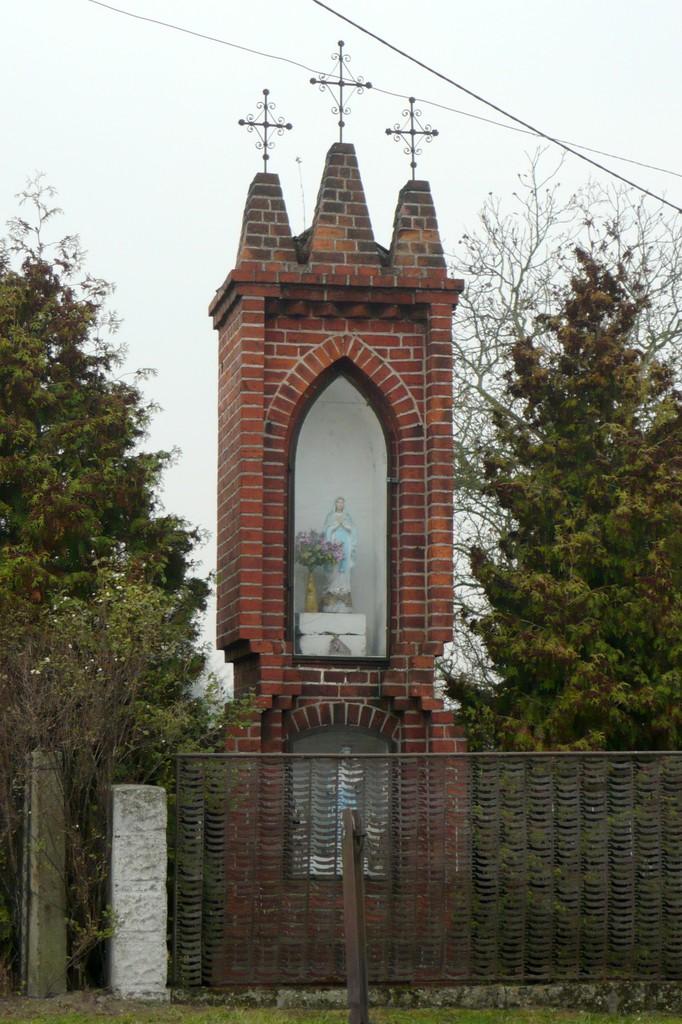 Kapliczka słupowa - Stare Siołkowice Dolna 4.jpeg