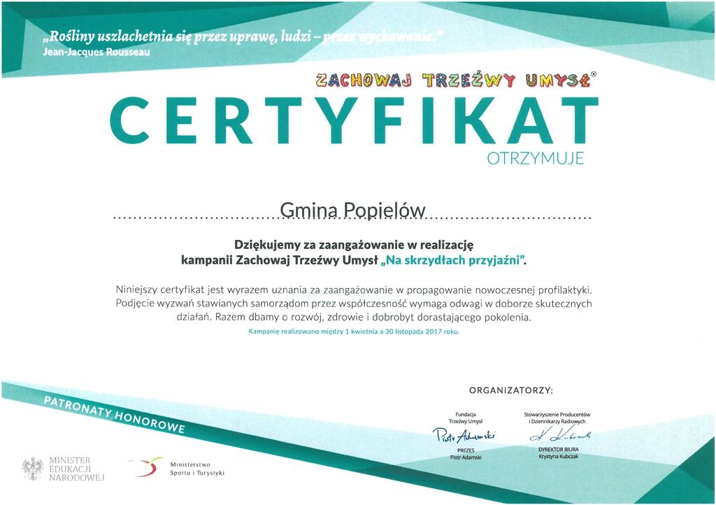 Certyfikat - Zachowaj Trzeźwy Umysł.jpeg