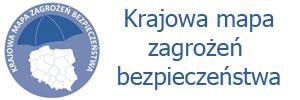 Logotyp strony Krajowej Mapy Zagrożeń Bezpieczeństwa