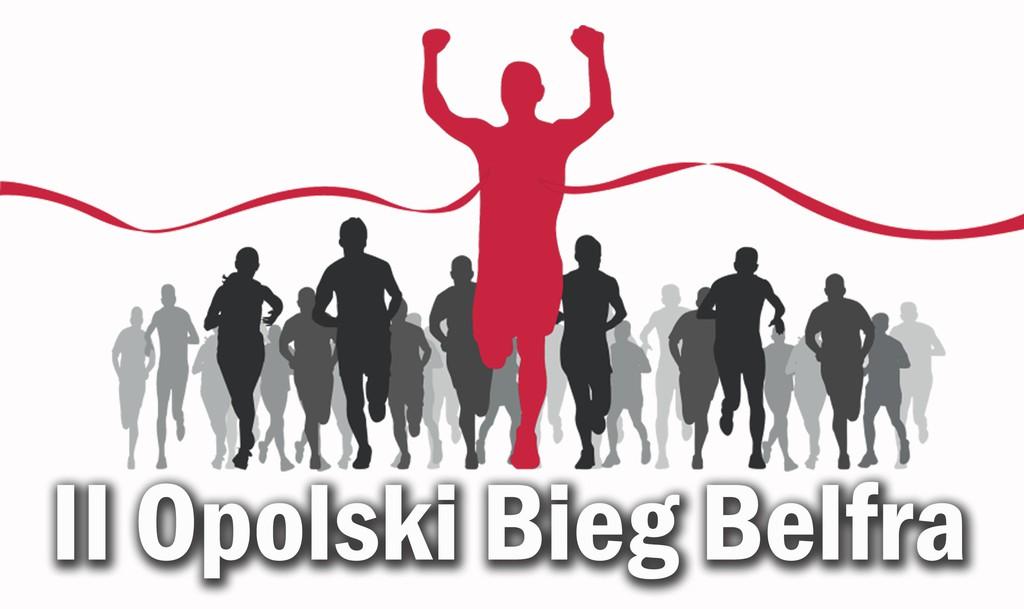 Plakat - II Opolski Bieg Belfra