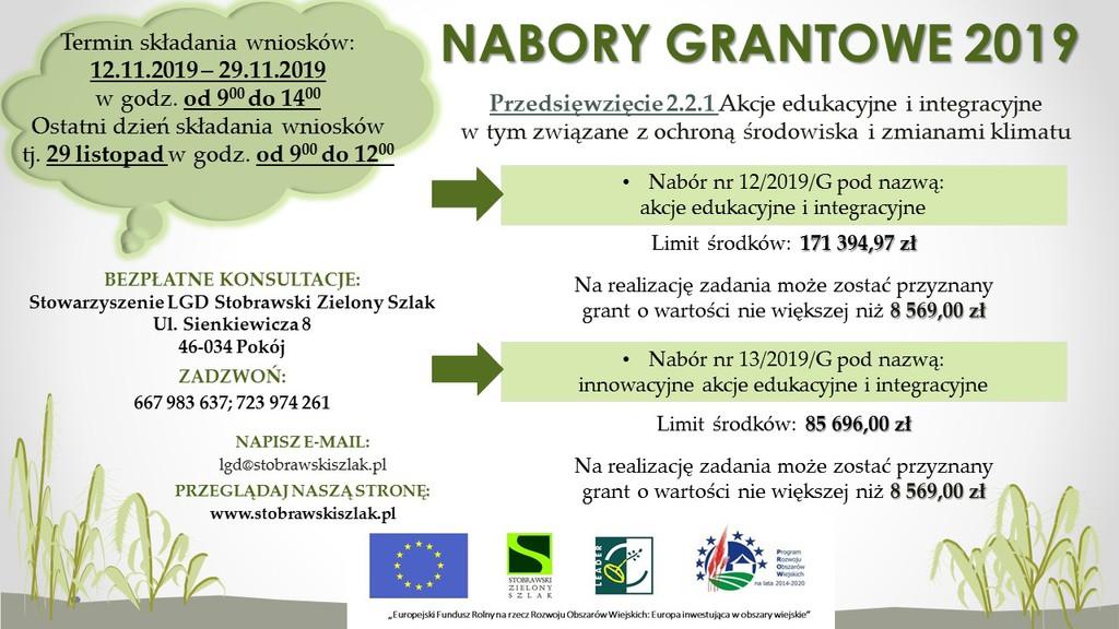 Stobrawski Zielony Szlak nabory plakat.jpeg