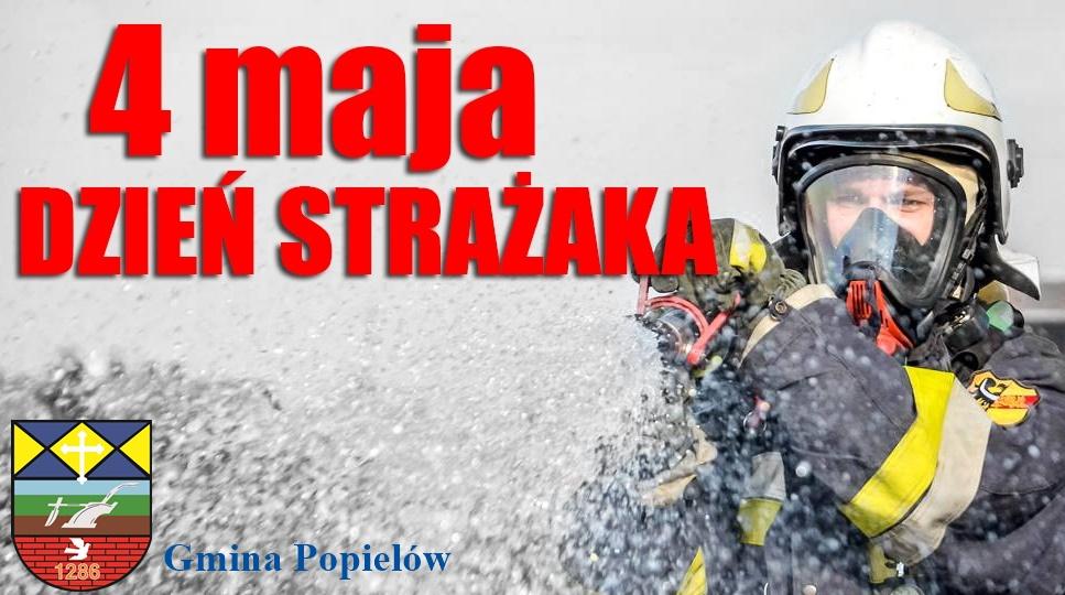 plakat dzień strażaka