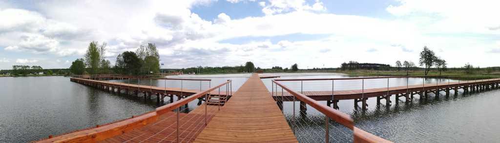 Pomost i kąpielisko w Nowych Siołkowicach