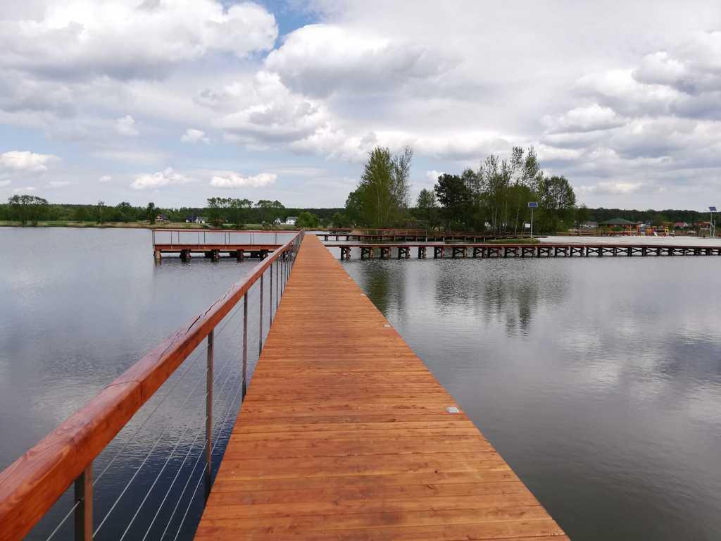 Pomost i kąpielosko w Nowych Siołkowicach