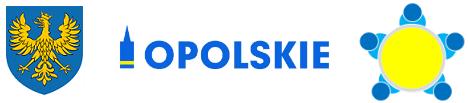 Grafika województwa opolskiego i godło miasta Opole