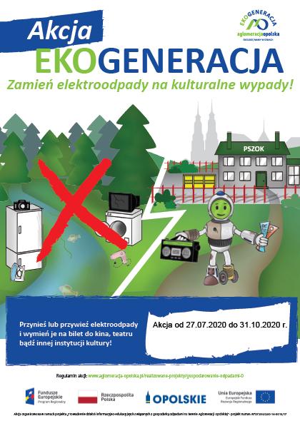 Konkurs Zamień elektroodpady na kulturalne wypady