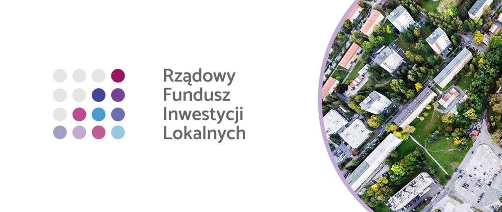 Logotyp - Rządowego Funduszu Inwestycji Lokalnych