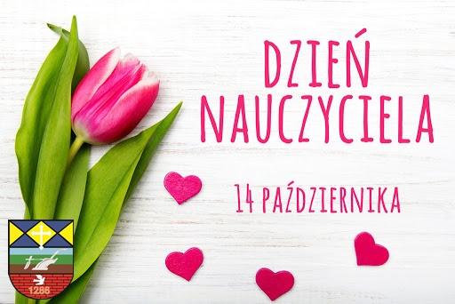 Plakat Dzień nauczyciela