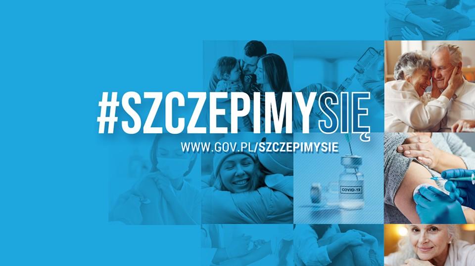 Logotyp rządowej akcji szczepimy się