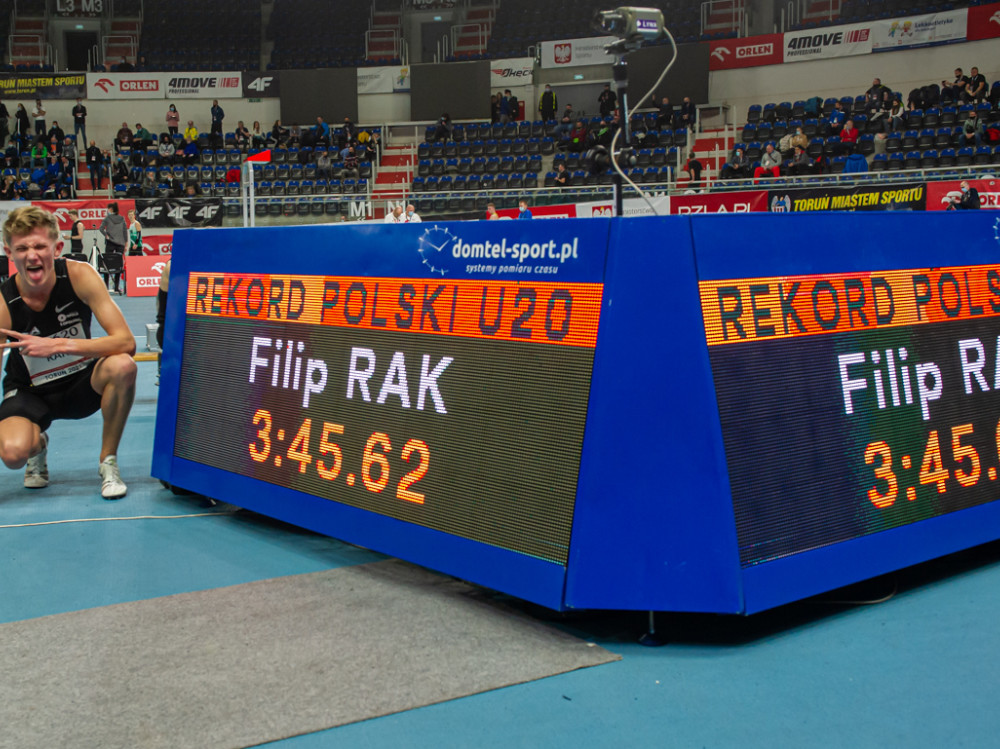 Filip Rak zawody lekkoatletyczne