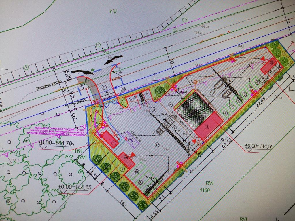 Zagospodarowanie terenu pod PSZOK