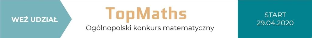 Plakat konkurs matematyczny