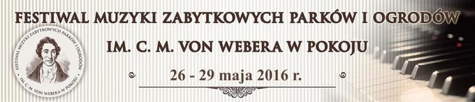 XIII Festiwal Muzyki Zabytkowych Parków i Ogrodów im. C.M von Webera w Pokoju - baner_www_680.jpeg