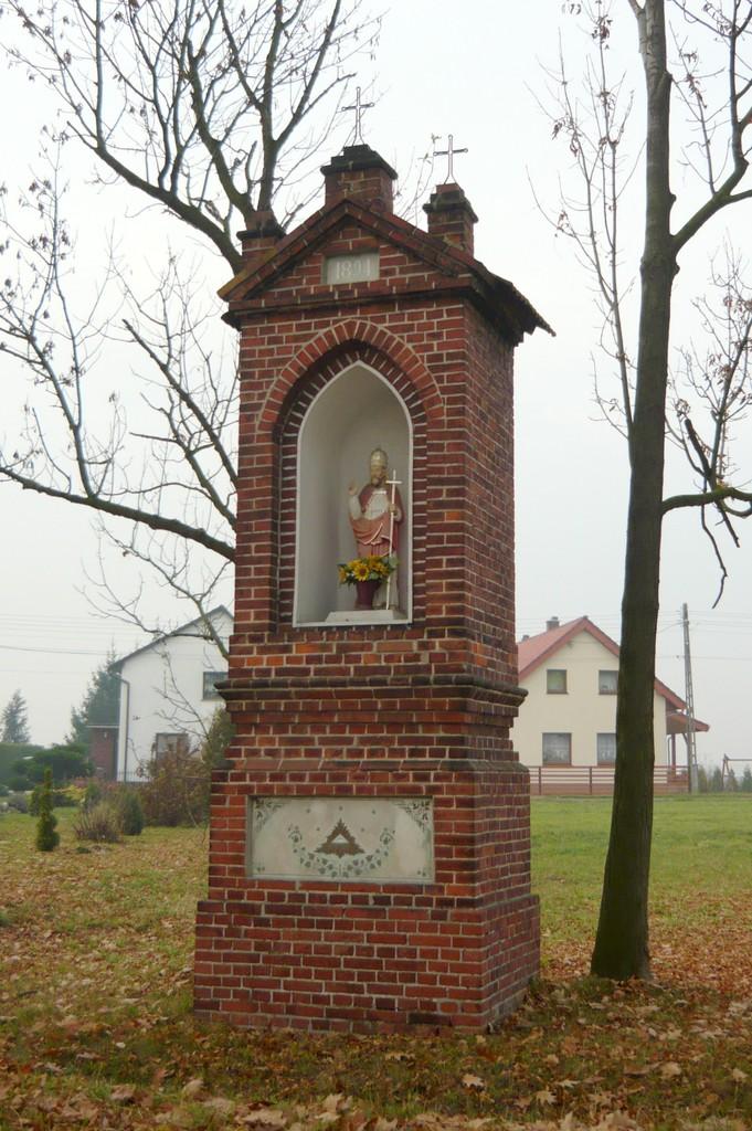 Kapliczka słupowa - Stare Siołkowice Błonie 26.jpeg