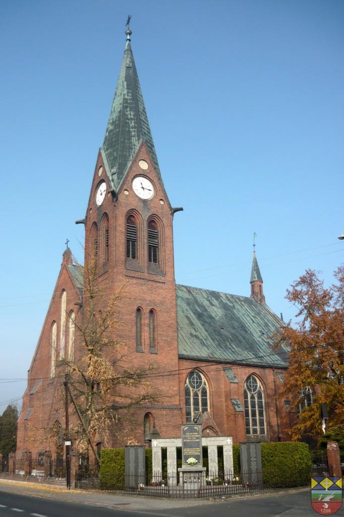 Kościół parafialany pw. Najświętszej Maryji Panny Królowej Aniołów -Popielów, Kościuszki.jpeg