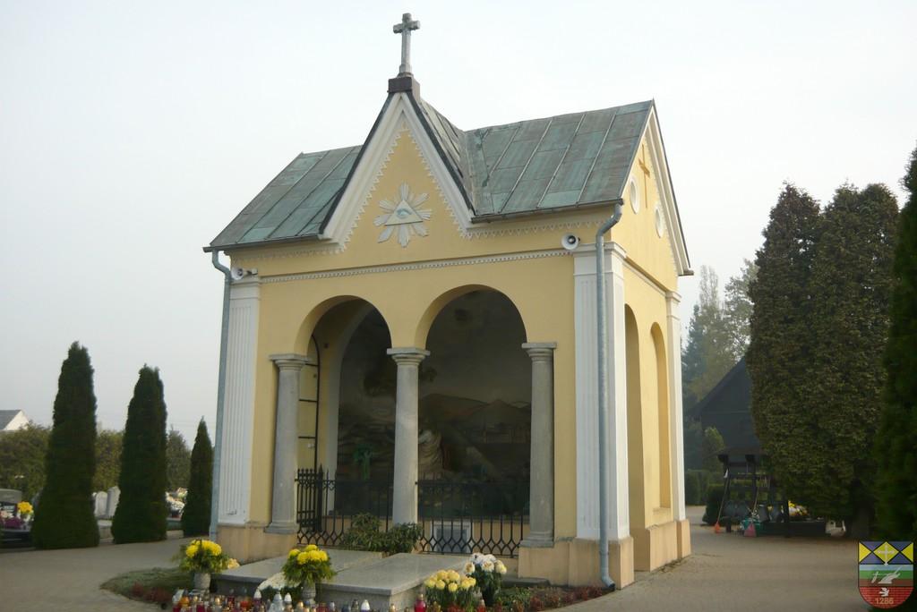 Kaplica - Ogrójec na cmentarzu - Popielów, Dworcowa.jpeg