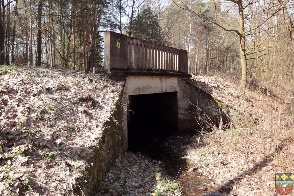 Przepust drogowy na dopływie rzeki Bachorzej w ciągu drogi powiatowej Popielów - Karłowice.jpeg