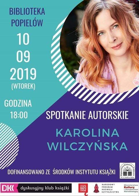 Spotkanie autorskie - Karolina Wilczyńska.jpeg