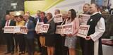 Uroczysta Gala wręczenia certyfikatu przynależności do Sieci Najciekawszych Wsi - Przedstawiciele wsi z certyfikatami