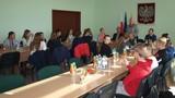 Żyjemy w harmonii z naturą - Uczniowie Publicznej Szkoły Podstawowej w Popielowie wraz z młodzieżą z Realschule z Bad Wurzach w Urzędzie Gminy w Popielowie