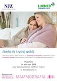 Plakat - badania mammograficzne w Popielowie.jpeg