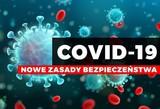 Plakat Covid-19 nowe zasady bezpieczeństwa