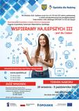 Plakat programu Samorządu Województwa Opolskiego - Wspieramy najlepszych_2020