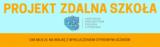 Projekt Zdalna szkoła - grafika promocyjna