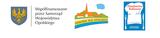 Logotyp przedstawiający: - Herb Województwa Opolskiego( Złoty orzeł na niebieskim tle) -  Współfinansowane przez Samorząd Województwa Opolskiego  - Odnowa wsi Opolskiej ( Białe budynki z pomarańczowym dachem na tle zielonego lasu. Na górze znajduje się niebieska chmurka, a na dole rzeka) - Dziedzictwo kulinarne( Jasno czerwony napis na białym tle w kształcie czapki kucharskiej. Całość znajduję się na niebieskim tle. Po bokach są białe sztućce