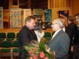 Gratulacje składa Przewodniczący Rady Gminy